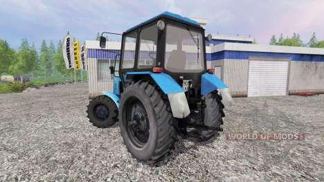 MTZ-82.1 Belarús turbo para Farming Simulator 2015