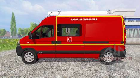 Renault Master [sapeurs-pompiers] v2.0 para Farming Simulator 2015