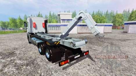 Renault Magnum [hooklift] v1.2 para Farming Simulator 2015