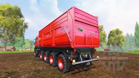 MAN TGS 10x8 v1.1 para Farming Simulator 2015