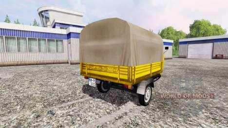 Piaggio Ape P601 Post para Farming Simulator 2015