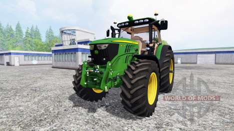 John Deere 6210R v2.0 [real run sound] para Farming Simulator 2015