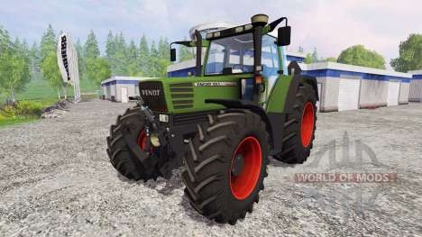Fendt Favorit 515C Turbomatic [washable] para Farming Simulator 2015