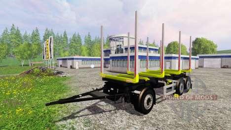 Riedler-Anhanger para Farming Simulator 2015
