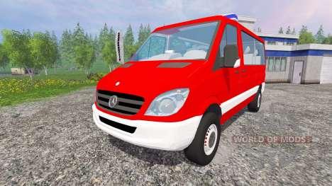 Mercedes-Benz Sprinter MTF para Farming Simulator 2015