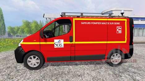 Renault Trafic VTU para Farming Simulator 2015