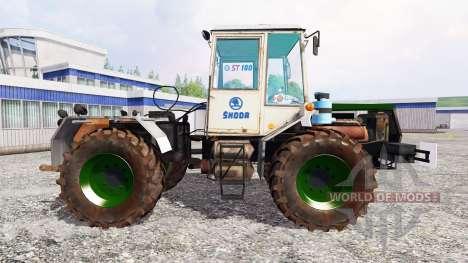 Skoda ST 180 [green] para Farming Simulator 2015