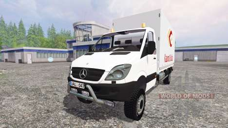 Mercedes-Benz Sprinter 313 CDI para Farming Simulator 2015