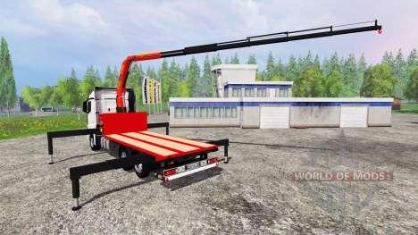 Mercedes-Benz Actros MP4 Convoi Exceptionel para Farming Simulator 2015