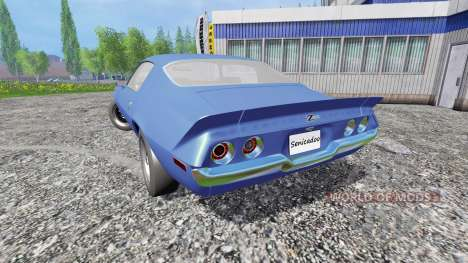 Chevrolet Camaro Z28 1973 para Farming Simulator 2015