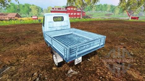 Piaggio Ape P601 para Farming Simulator 2015