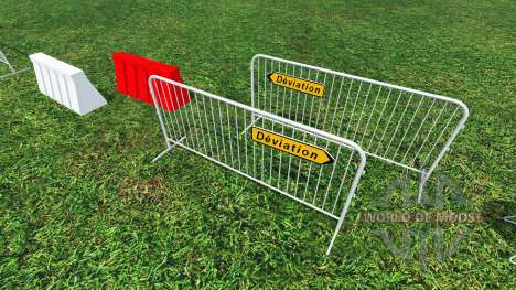 Construction Signs v1.1 para Farming Simulator 2015
