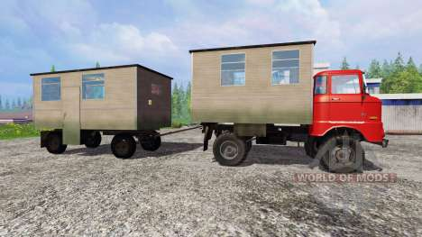 IFA W50 [passenger] para Farming Simulator 2015