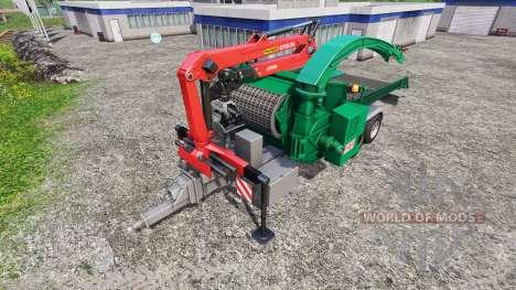 Jenz HEM 583 Z [back] para Farming Simulator 2015