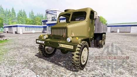 Praga V3S [Army] para Farming Simulator 2015