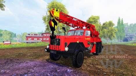 Magirus-Deutz 200D26A [firemen truck crane] para Farming Simulator 2015