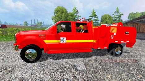 Ford F-350 [feuerwehr] para Farming Simulator 2015