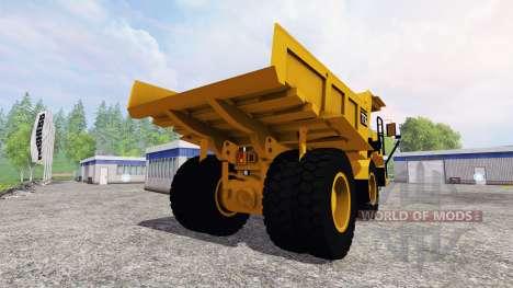 Caterpillar 773G para Farming Simulator 2015