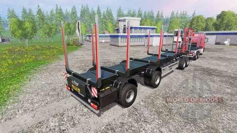 MAN TGS 33.440 [forest] v0.7 para Farming Simulator 2015