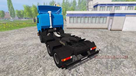 KamAZ-54115 NEFT para Farming Simulator 2015