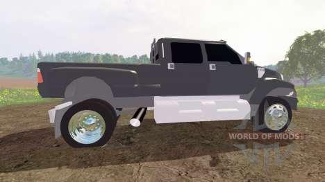 Ford F-650 v2.0 para Farming Simulator 2015