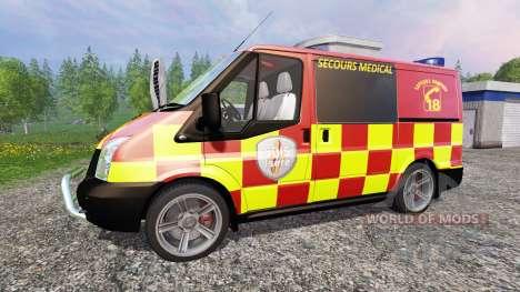 Ford Transit [secours medical] para Farming Simulator 2015