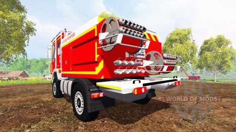 Renault Midlum [sapeurs-pompiers] para Farming Simulator 2015