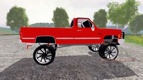 Chevrolet Silverado para Farming Simulator 2015