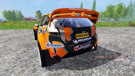 Ford Fiesta WRC para Farming Simulator 2015