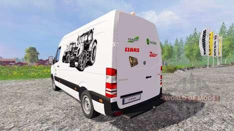 Mercedes-Benz Sprinte [service] para Farming Simulator 2015