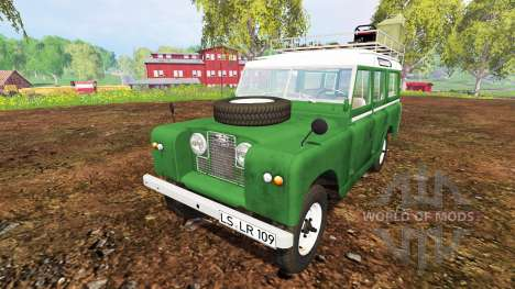Land Rover Series IIa Station Wagon 1965 para Farming Simulator 2015