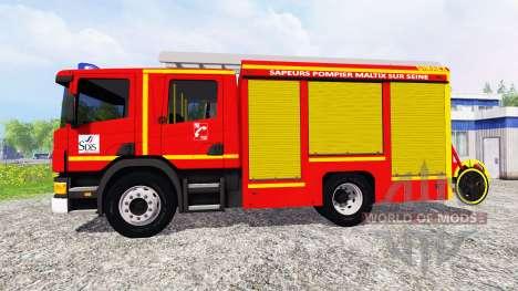 Scania P94D 260 GIMAEX para Farming Simulator 2015