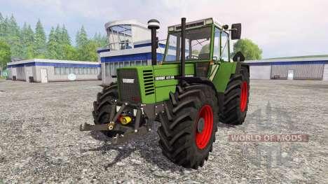 Fendt Favorit 615 LSA Turbomatic v2.0 para Farming Simulator 2015