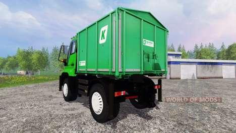 Mercedes-Benz Unimog U400 v1.3 para Farming Simulator 2015