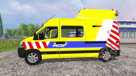 Renault Master ASF v2.1 para Farming Simulator 2015