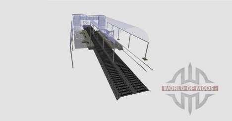 Estación de tren para Farming Simulator 2015