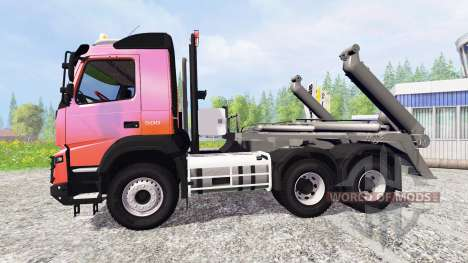 Volvo FMX [container truck] v1.2 para Farming Simulator 2015