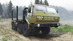 KrAZ-7Э6316 Siberia [03.03.16] para Spin Tires