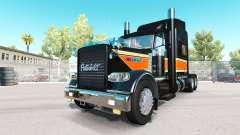 La parte Superior Plana de Transporte de la piel para Peterbilt 389 camión para American Truck Simulator