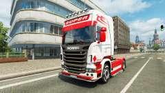 Holanda Estilo de la piel para Scania camión para Euro Truck Simulator 2
