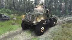 KrAZ-255 camión [03.03.16] para Spin Tires
