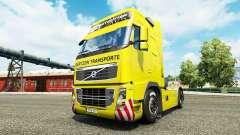 Gertzen Transporte de la piel para camiones Volvo para Euro Truck Simulator 2