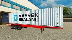 El Semi-Remolque De Maersk Sealand para Euro Truck Simulator 2