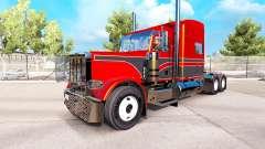 Metálicos, las pieles para el Peterbilt 389 tractor para American Truck Simulator