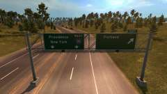 Coast to Coast Map v 1.6 para American Truck Simulator