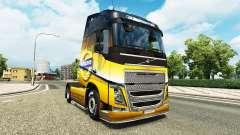El Volvo Especial 2012 de la piel para camiones Volvo para Euro Truck Simulator 2