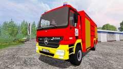 Mercedes-Benz Actros 4141 [feuerwehr]