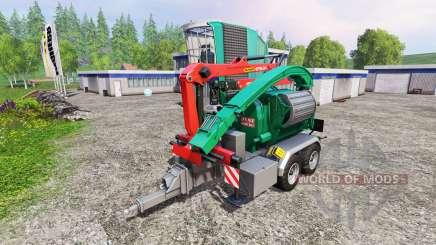 Jenz HEM 583 Z v3.0 para Farming Simulator 2015