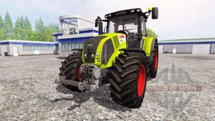 CLAAS Axion 850 v1.3 para Farming Simulator 2015