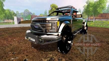 Ford F-450 2017 [custom] para Farming Simulator 2015